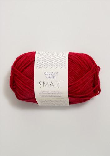 Sandnes Garn Smart 4219 punainen