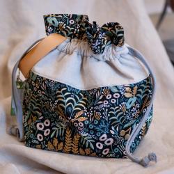 Pink Hazel Project Bag Large
