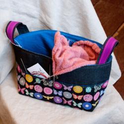 Pink Hazel Basket