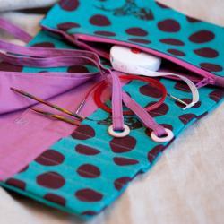 Pink Hazel Interchangeable Organiser