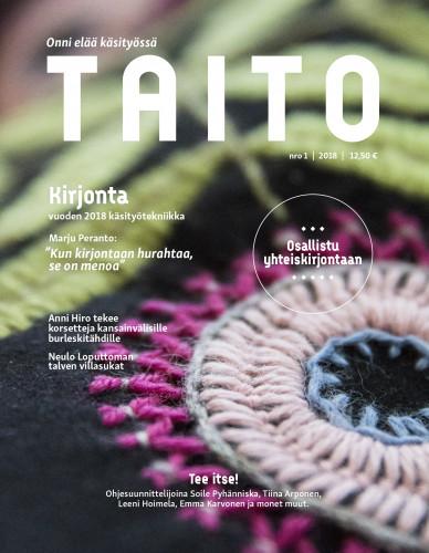 Taito-lehti 01/2018