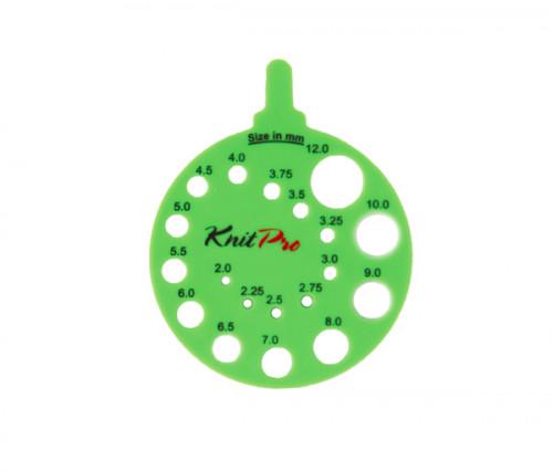 Knit Pro Pyöreä puikkomitta vihreä
