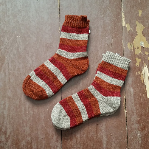 Tukuwool Striped Socks
