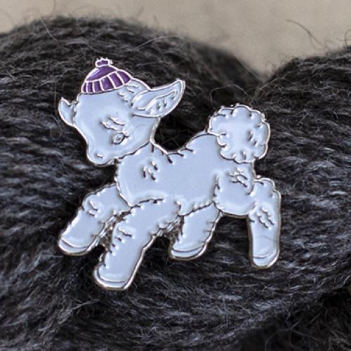 Knit Fest 2018 Pin lamb
