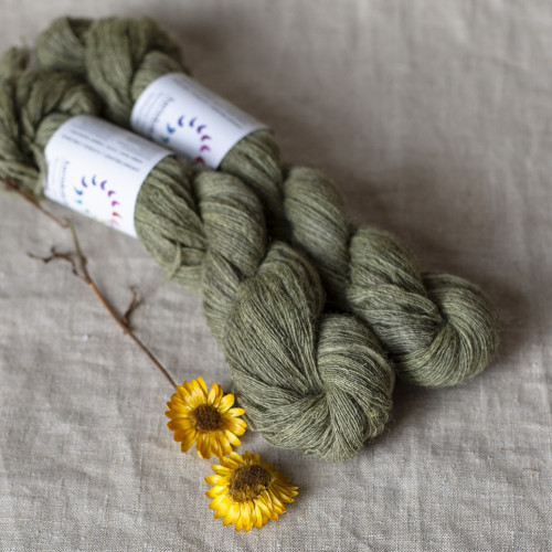 Aurinkokehrä Plant Dyed Lace Weight Wool