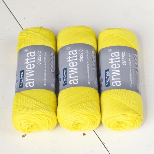 Filcolana Arwetta Classic 251 Electric Yellow