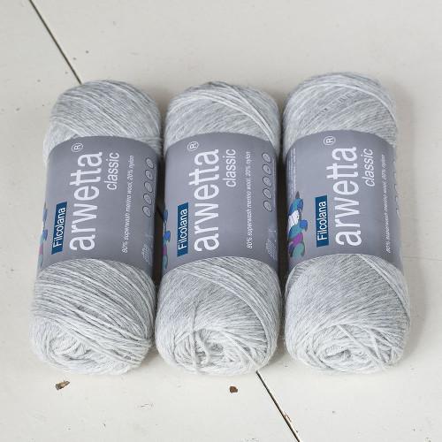 Filcolana Arwetta Classic 957 Very Light Grey (melange)