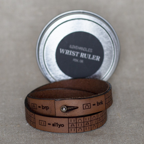 Brioche Bracelet Leather Wristband