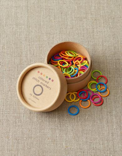 Cocoknits Colored Stitch Markers 9 mm - Värikkäät silmukkamerkit