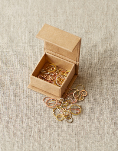Cocoknits Precious Metal Stitch Markers -Silmukkamerkkisetti