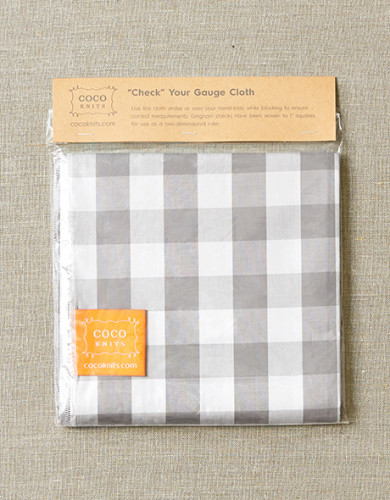 Cocoknits Check Your Gauge Cloth